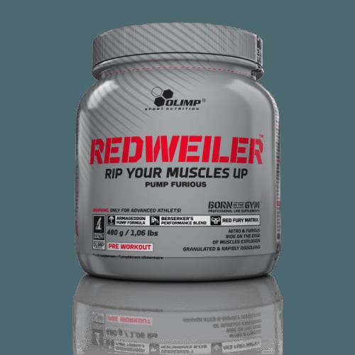 redweiler olimp pre workout