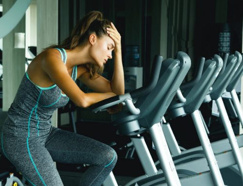 Train when sick and sweat it out or rather stay at home?