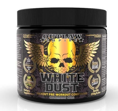 White Dust pre workout strong