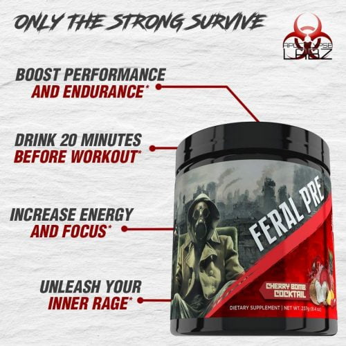 feral pre workout benefits