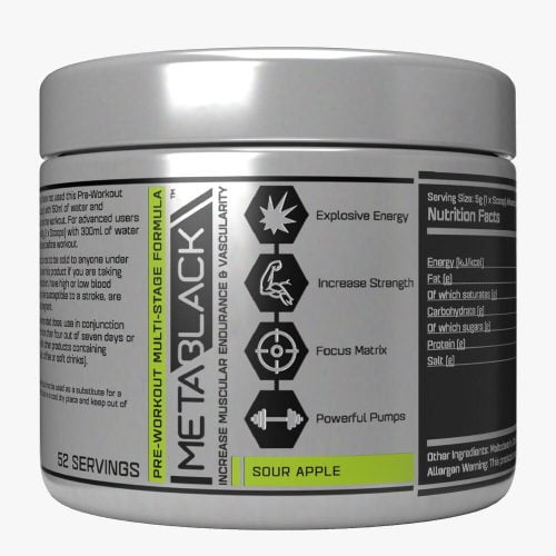 Metablack Multi Stage Pre Workout
